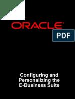 Configuration Personalization EBS