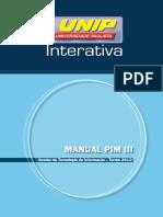 Manual Pim III Gti 2012