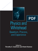 Physics and Whitehead - Quantum, Process, And Experience