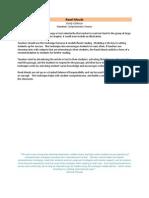 Read Aloud, Frayer Model, Four Square Summary