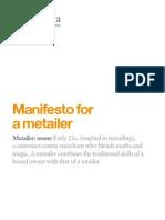Manifesto Metailer V1.0 WEB
