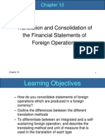 Chapter 12 Translation and Consolidation of FS