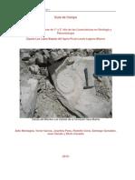 Guía de Campo 2012 cuenca neuquina