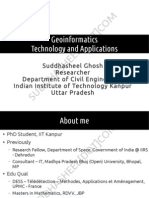 Research Prospects in Geoinformatics
