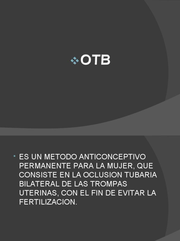 Oclusion Tubaria Bilateral Download