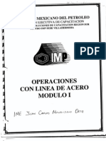 Manual Operaciones de Linea de Acero I