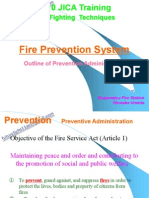Fire Prevention System(Prevention)