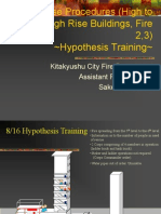 High to Medium High Rise Buildings, Fire Ⅱ・Ⅲ Hypothesis Training