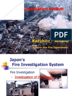 Japan'sFire Investigation System