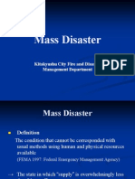 Mass Disaster Ppt