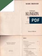 IL Dizionario Italiano Klingon Italiano