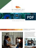 Wimberely Glassworks Corporate Portfolio