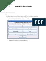 Ejecutar Programas Desde Visual Basic