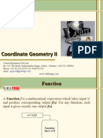 Coordinate Geometry II