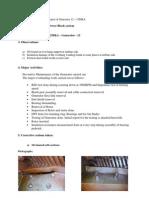 Overhauling Procedure and Report of Generator 12