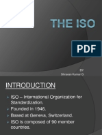 ISO basics