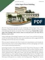 Scientology- Secrets of the Super Power Building