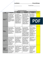 E-Portfolio and Presentation Rubric