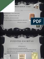 Tipos de Fuentes Del Neolitico