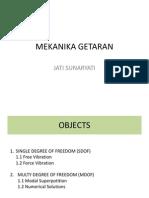 MEKANIKA GETARAN