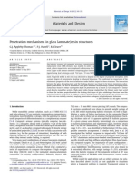 Penetration Mechanisms in Glass Laminate-resin Structures