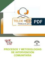 Procesos y metodologías de intervención comunitaria