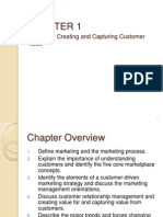 Chapter1-Creating and capturing customer value