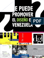 ¿Se puede promover el Diseño en Venezuela?