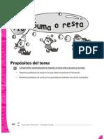 Guia Para Docentes Matematicas 2 - Tema 16 - Suma o Resta