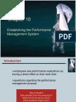 Establishing Performance Management System
