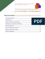 Grado en Relaciones Internacionales - UCM - Info Extendida