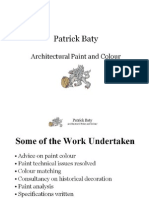 Patrick Baty - Architectural Paint and Colour Consultant