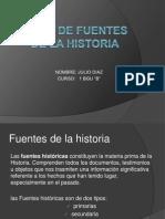 Tipos de Fuentes de La Historia