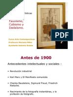 7. Primeras Vanguardias Cubismo y Dadaismo