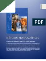 MÉTODOS MORFOSCÓPICOS