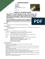 CV Jonathan Gilmore 20070119 Ec SeniorCCppSoftwareEngineer