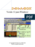 Manual Band in a Box v12 (Portugues)