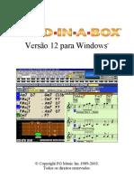 Manual Band in a Box v12 (Portugues)