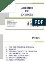 Curso Ahorro de Energía