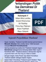 analisa politik demokrasi di Thailand