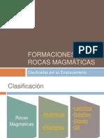 Formaciones Rocas Magmáticas