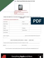 St Catherines - In School iPad 3docx