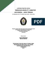 Report of Samator Gas Kendal - Semarang - Indonesia