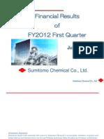 10-08-12 Sumitomochem Results Q1