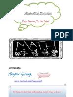 Math Formulas - The Quicker Way.