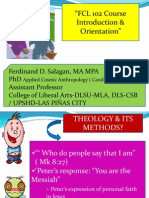 Lecture Formation Introduction and Orientation