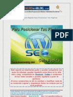 DESCARGA GRATIS SEO y posicionamiento web WordPress SEO Guía Para Posicionar