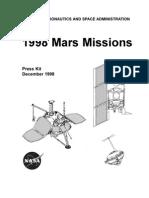 Mars Spacecraft Missions
