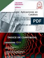 Seminario de Nanotecnologia_Aplicaciones en Catalisis
