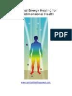 Spiritual Energy Healing for MDHealth